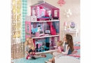 Breanna 18-inch Dollhouse w/ 12 pc jumbo sized doll furniture