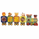 Waiting Room Toys-Busy Train Kids Activity 5 Wall Panels-Made in USA