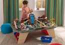 Waterfall junction Train Table & train set w/ Storage Bins