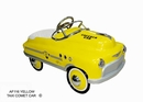 Yellow Taxi Comet Pedal Car