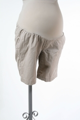 Beige Maternity Shorts by A Pea in the Pod - Size Medium