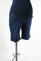 Denim Maternity Shorts by A Pea in the Pod - Size Medium
