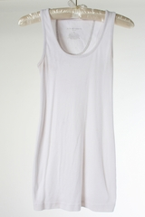 White Maternity Tank by Liz Lange Maternity - Size Extra Small