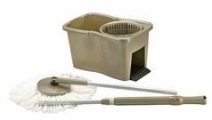 NEW VERSION Hand-Pressing DynaMop® Plunger square gold color bucket 2-Heads