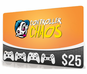 $25 Chaos Gift Card (Email Delivery)