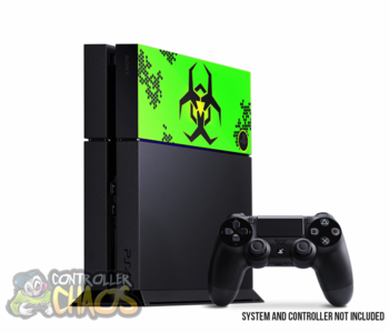 "PS4 HDD Cover ""Biohazard"""