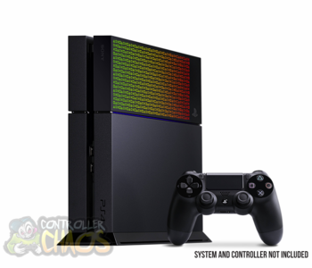 "PS4 HDD Cover ""Rasta"""