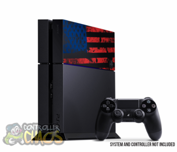 "PS4 HDD Cover ""USA"""