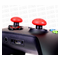 Thumbstick Dome Grips: Mercury Red