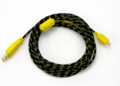 Yellow Braided 10ft Micro USB