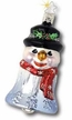 2002 Snowman Annual Bell Ornament by Inge Glas