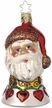 2006 Santa Annual Bell Ornament by Inge Glas
