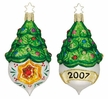 2007 Tannenbaum Reflections Annual Reflector Ornament by Inge Glas