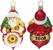 2008 Christmas Reflections Annual Reflector Ornament by Inge Glas