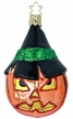 A Spooky Sight Jack O' Lantern Ornament by Inge Glas
