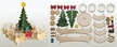 Make it Yourself Tree Advent Light Kit by Drechslerei Kuhnert