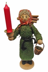 Forest Woman Candle Holder by Drechslerei Kuhnert