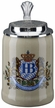 German Hofbrauhaus Beer Stein with Logo Lid by KING-WORKS Wuerfel & Mueller GmbH and Co. in Hoehr-Grenzhausen