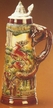 German Hunting Beer Stein by KING-WORKS Wuerfel & Mueller GmbH and Co. in Hoehr-Grenzhausen
