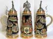 Germany with Eagle Lid Beer Stein by KING-WORKS Wuerfel & Mueller GmbH and Co. in Hoehr-Grenzhausen