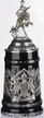 Deutschland, Black Crystal Beer Stein by KING-WORKS Wuerfel & Mueller GmbH and Co. in Hoehr-Grenzhausen