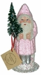 Baby Rose Beaded Santa Paper Mache Candy Container by Ino Schaller