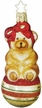 Beary Merry Ornament by Inge Glas