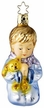 Bedtime Prayer Boy - Life Touch Ornament by Inge Glas