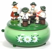 Beer Drinkers Music Box from the Erzgebirge