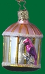 Bird in Cage Ornament by Inge Glas