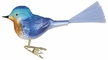 Bluebird Ornament by Inge Glas