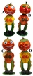 This Pumpkin Nodder Paper Mache Candy Figurine by Ino Schiller by Ino Schaller - $110.00 Each