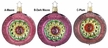 Botanical  Reflection Ornament by Inge Glas - $21.50 each