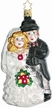 Bridal Couple Ornament by Inge Glas