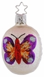Brilliant Butterfly on Form Ornament by Inge Glas