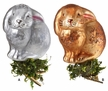 Bunny Tales Clip On Ornament by Inge Glas - $21.50 each