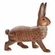 Bunny Walking Paper Mache Candy Container by Marolin