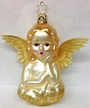 Angel with Foil Wings Ornament by Inge Glas