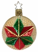 Shimmering Christmas Star Ornament by Inge Glas