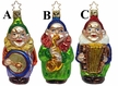 Clown Band Ornament by Inge Glas - $16.00 Each