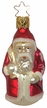 Red Santa with Sack Ornament by Inge Glas in Neustadt by Coburg