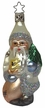 Sterling Arrival Santa Ornament by Inge Glas in Neustadt by Coburg
