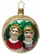 Heidi and Peter Ornament by Inge Glas