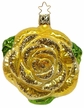 Golden Beauties Rose Ornament by Inge Glas
