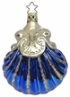 Blue Jewel Ornament by Inge Glas in Neustadt by Coburg