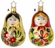 Matroschka Lady Ornament by Inge Glas - $27.00 Each