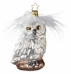 Winter's Owl Ornament by Inge Glas