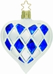 Bavarian Heart Ornament by Inge Glas
