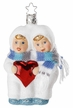 Heartfelt Greetings, Snow Kinder Ornament by Inge Glas