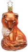 Kit, Red Fox Ornament by Inge Glas